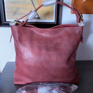 New: Faux Leather Tote Bag